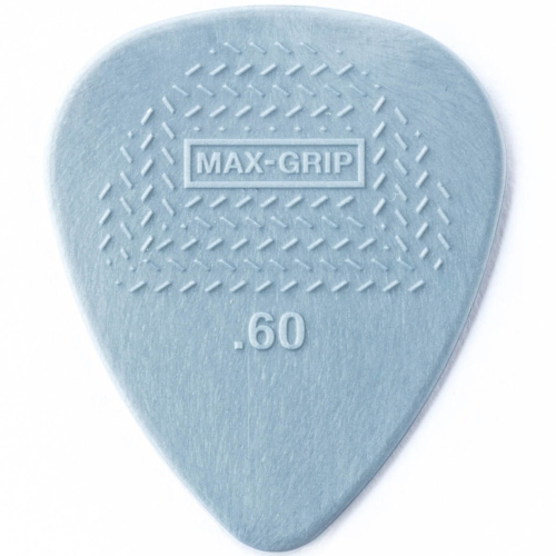 Picks Jim Dunlop 449P.60 Nylon MaxGrip Players Pk .60 (12)