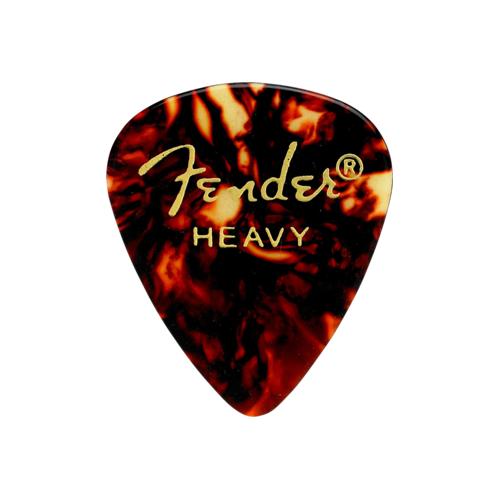 Fender 351 Shape Premium Picks - Heavy, Shell, 12 Pack