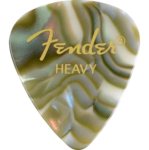 Fender 351 Shape Premium Picks - Heavy, Abalone, 12 Pack