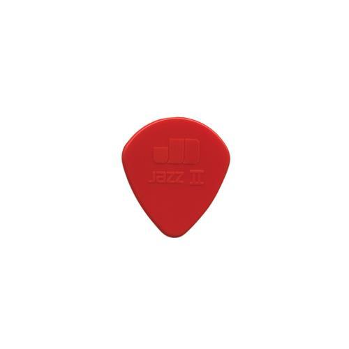 Picks Jim Dunlop 47P2-N Jazz II 6 Pk Sharp Red 1.18