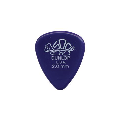 Dunlop Delrin Guitar Picks - 2.0mm, 12 Pack