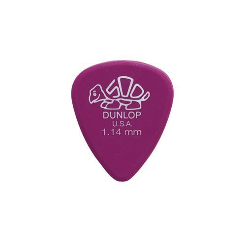 Dunlop Delrin Guitar Picks - 1.14mm, 12 Pack