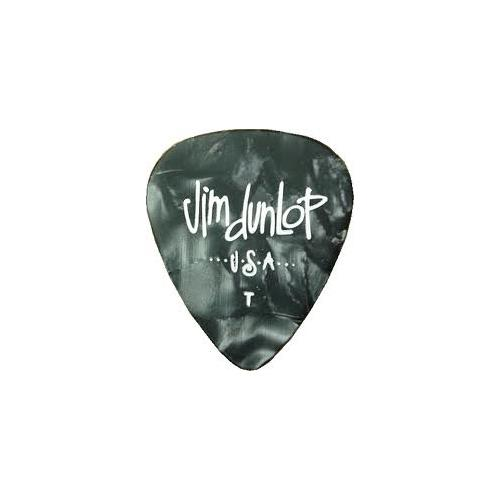 Picks Jim Dunlop 483P-02-TH Celluloid Blk Pearl Thin (12)