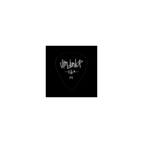 Picks Jim Dunlop 483P-03-MD Celluloid Black Med (12)