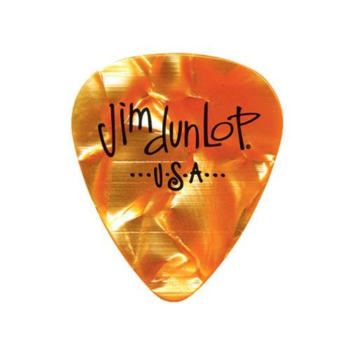 Picks Jim Dunlop 483P-08-M Orange Pearl Clas Players Pk (12)