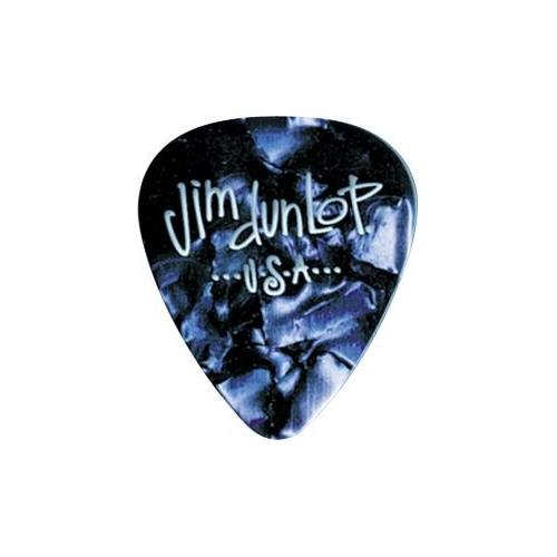 Picks Jim Dunlop 483P-10-MD Blue Pearl Classic Player Pk (12
