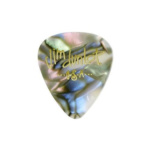 Picks Jim Dunlop 483P-14-TH Celluloid Abalone Clsc Thin (12)