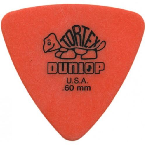 Picks Jim Dunlop 431P.60 Tortex Tri Players Pk .60 (6)