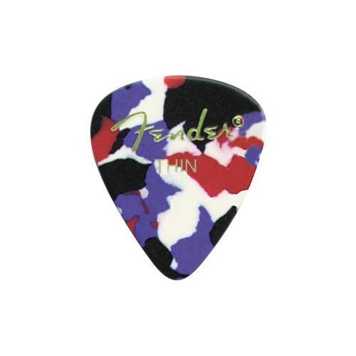 Picks Jim Dunlop 483P-06-TH Celluloid Confetti Thin (12)