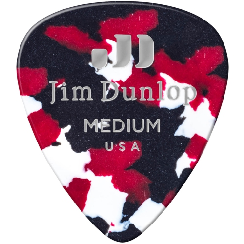 Picks Jim Dunlop 483P-06-MD Celluloid Confetti Med (12)