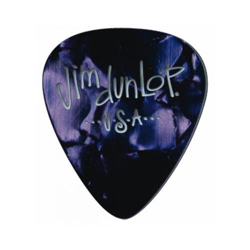 Picks Jim Dunlop 483P-13-M Purple Pearl Clas Players Pk (12)