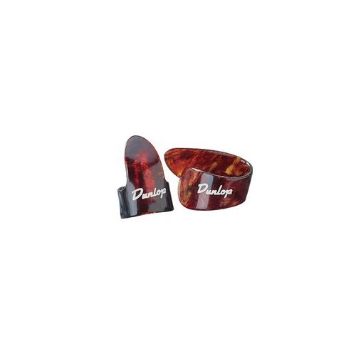 Picks Jim Dunlop 9023P Shell Thumb Players Pk Heavy (4)