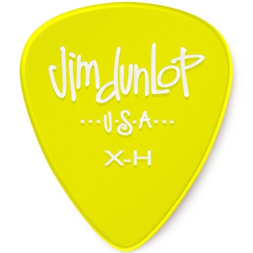 Picks Jim Dunlop 486P-XHVY Gels Players Pk Yellow X-Hvy (12)