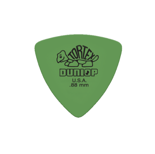 Picks Jim Dunlop 431P.88 Tortex Tri Players Pk .88 (6)