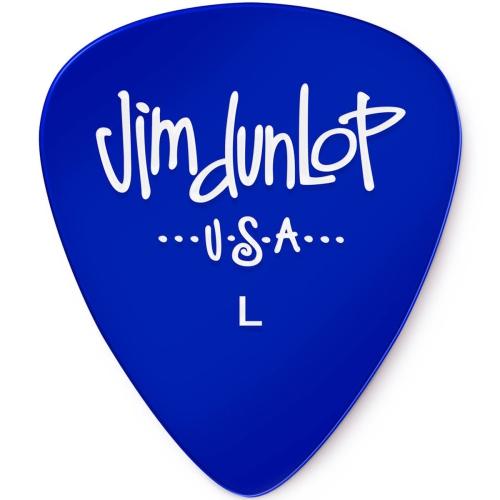 Picks Jim Dunlop 486PLT Gels Players Pk Blue Light (12)