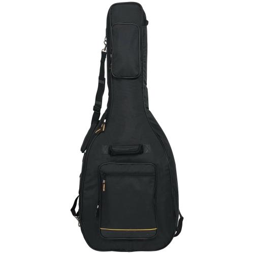 Gig Bag Guitar Acoustic RockBag Deluxe - Black