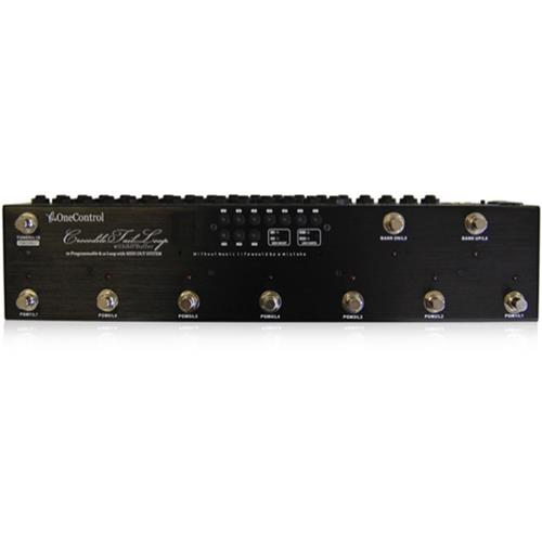 Pedal Footswitch One Control Crocodile Tail Loop