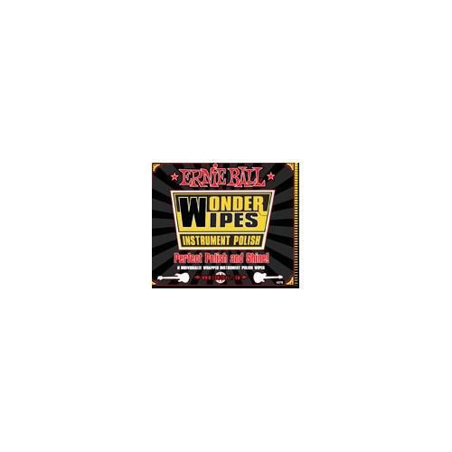 Ernie Ball EB4248 Wonder Wipes Guitar Polish - Single