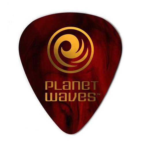 Planet Waves 1CSH4-10 Shell Colour Celluloid Guitar Picks - 10 Pack - Medium