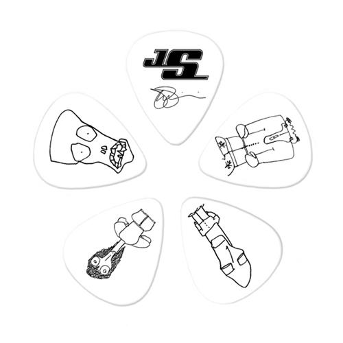 Planet Waves 1CWH6-10JS Joe Satriani Guitar Picks - 10 Pack - Heavy