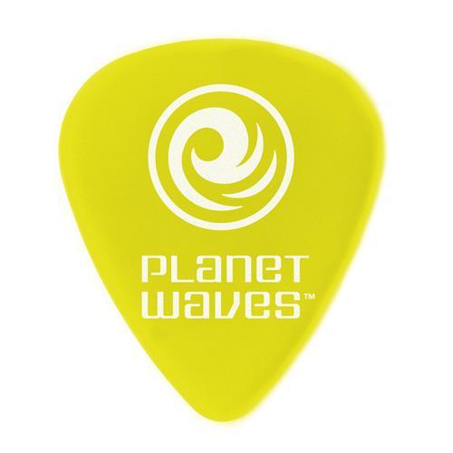 Planet Waves 1DYL3-10 Duralin Guitar Picks - Yellow - 10 Pack - Light / Medium