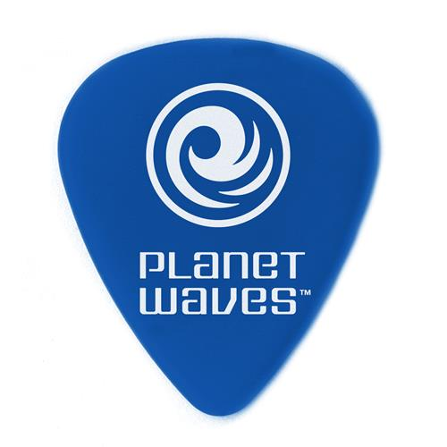 Planet Waves 1DBU5-10 Duralin Guitar Picks - Blue - 10 Pack - Medium / Heavy