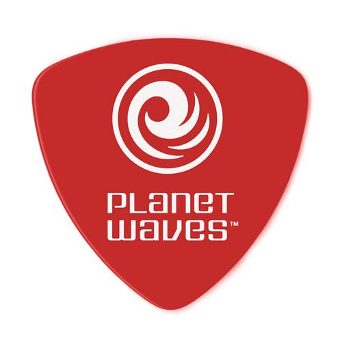 Planet Waves 2DRD1-10 Duralin Guitar Picks - Red - Super Light - Wide - 10 Pack