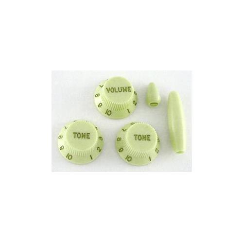 Knob Set for Stratocaster - Mint Green