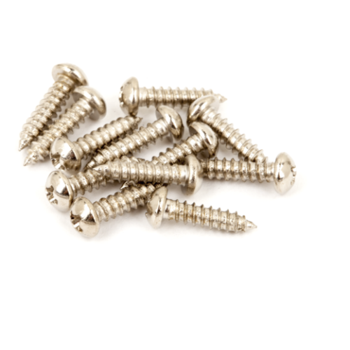 Fender Pure Vintage Tuning Machine Mounting Screws - 12 Pack