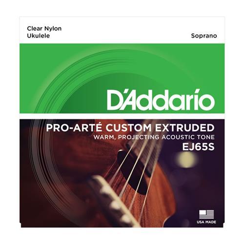D'Addario EJ65S Pro-Arte Custom Extruded Soprano Ukulele Strings