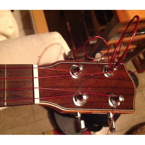 Strings Ukulele Aquila Red Series Soprano Reg Key of C GCEA