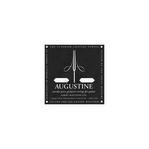 """Augustine Black Classical Guitar Single String - Light Tension """"A' or 5th"""