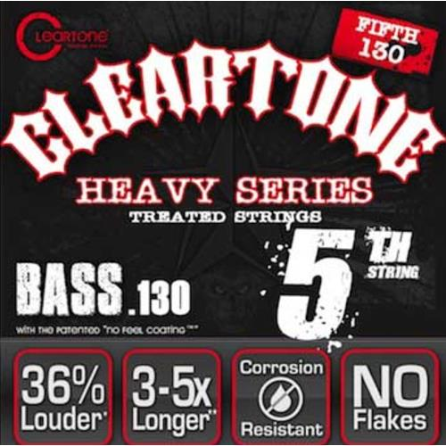 Cleartone Fifth String Nickel Plated Bass Strings - .130