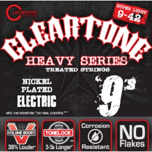 Cleartone 9409 Super Light Monster Heavy Series Electric Guitar Strings - 9-42
