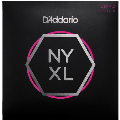 D'Addario NYXL0942 Nickel Wound Electric Guitar Strings - Super Light, 09-42