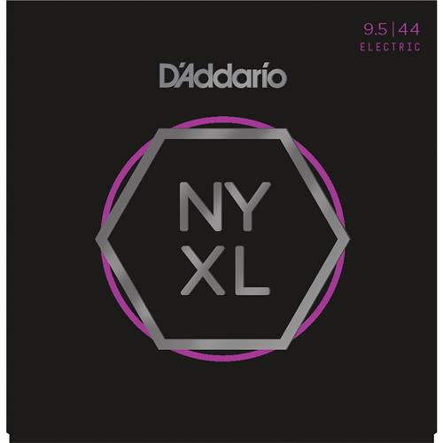 D'Addario NYXL09544 Nickel Wound Electric Strings - Super Light Plus - 9.5-44