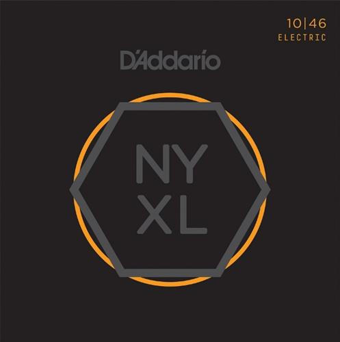 D'Addario NYXL1046 Nickel Wound Electric Guitar Strings - Regular Light, 10-46