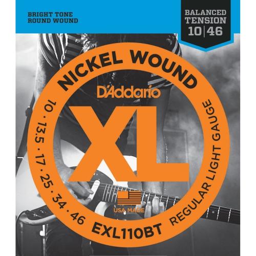 Strings Electric D'Addario EXL110BT Bal Ten Reg Lite