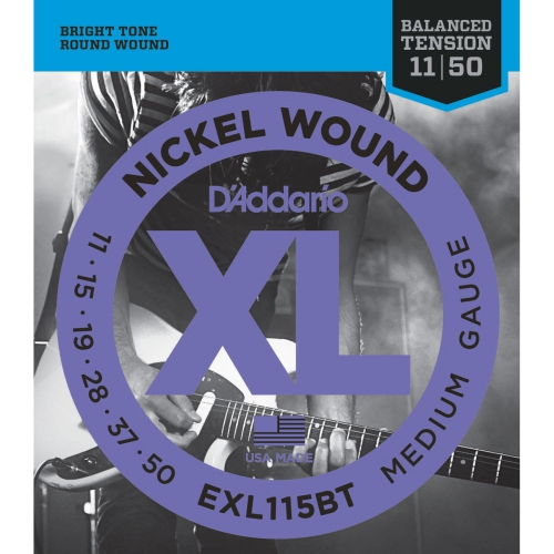 Strings Electric D'Addario EXL115BT Bal Ten Medium