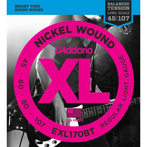 Strings Bass D'Addario EXL170BT Bal Ten 45-105