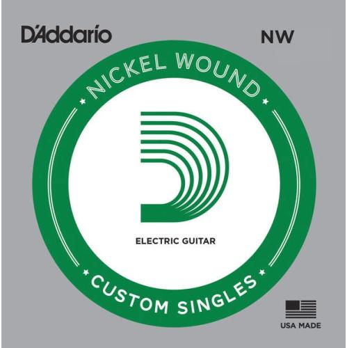 D'Addario Single XL Nickel Wound 056 Guitar String