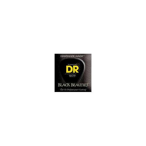 DR Strings BKE-10/52 Black K3 Coated Electric Strings - Big n Heavy, 10/52