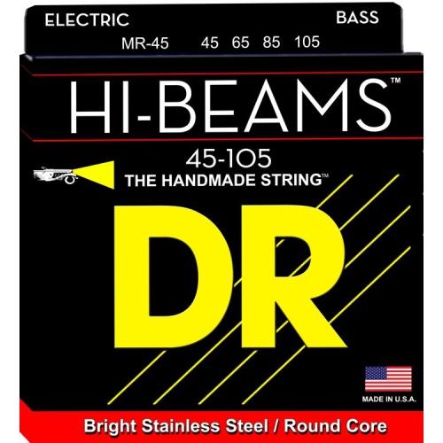 DR Strings MR-45 Hi-Beam Bass Strings - Medium, 45-105