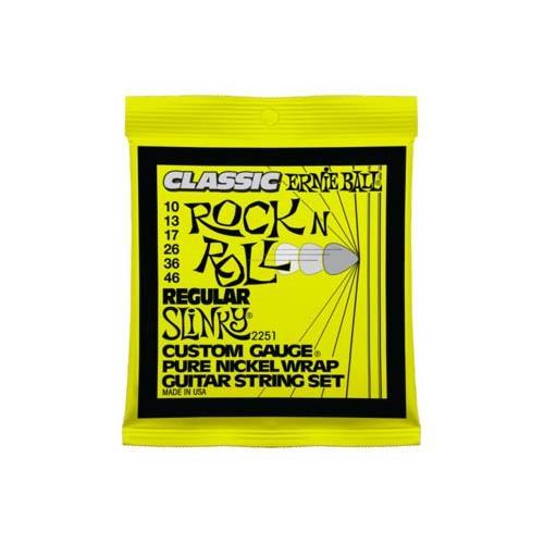Ernie Ball PO2251 Regular Slinky Classic Rock n Roll Electric Guitar Strings