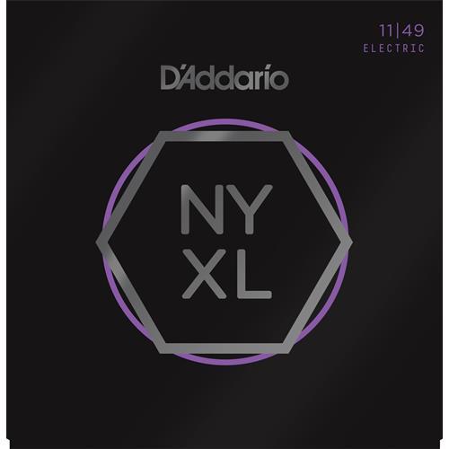 D'Addario NYXL1149 Nickel Wound Electric Guitar Strings - Medium, 11-49