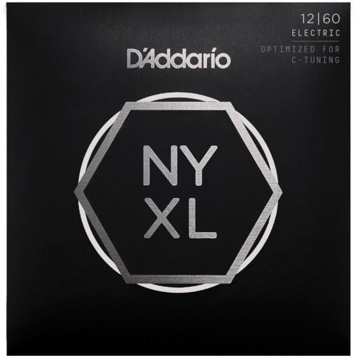 D'Addario NYXL1260 Nickel Wound Electric Strings - Extra Heavy - 12-60