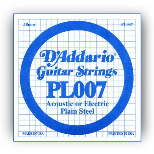 String Bulk D'Addario PL009-5 Hi Carbon Steel 5-Pack