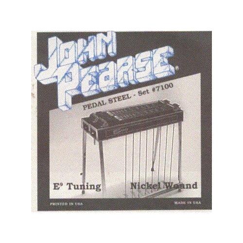 John Pearse - JP7100 Pedal Steel Strings - E9 Tuning