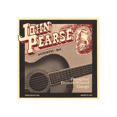 John Pearse 550SL Phosphor Bronze Acoustic Guitar Strings - Slightly Light 11-50
