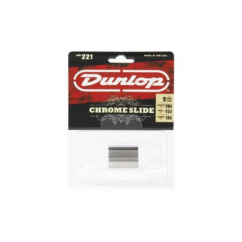 Slide Guitar Jim Dunlop 221 Chrome Medium Knuckle